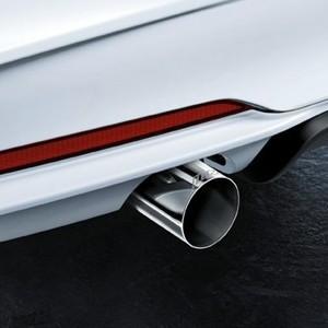 BMW M Performance Schalldämpfer 2er F22 F23 M235i Coupé (ohne M Performance Aerodynamik-Paket, mit Serienheckdiffusor)