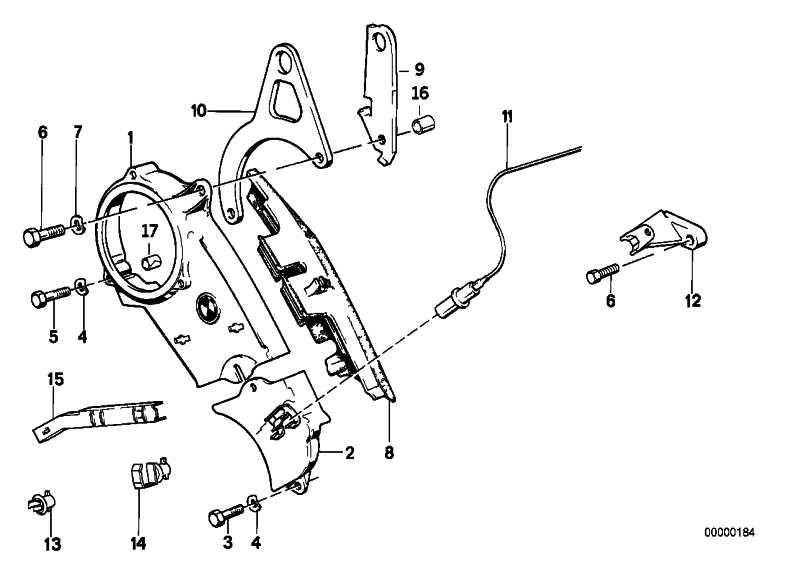 Impulsgeber MOTRONIC KW     3er 5er Z1  (12141720852)