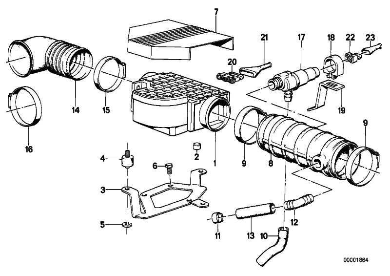 Leerlaufregelventil L-Form  3er 5er 6er 7er  (13411286065)