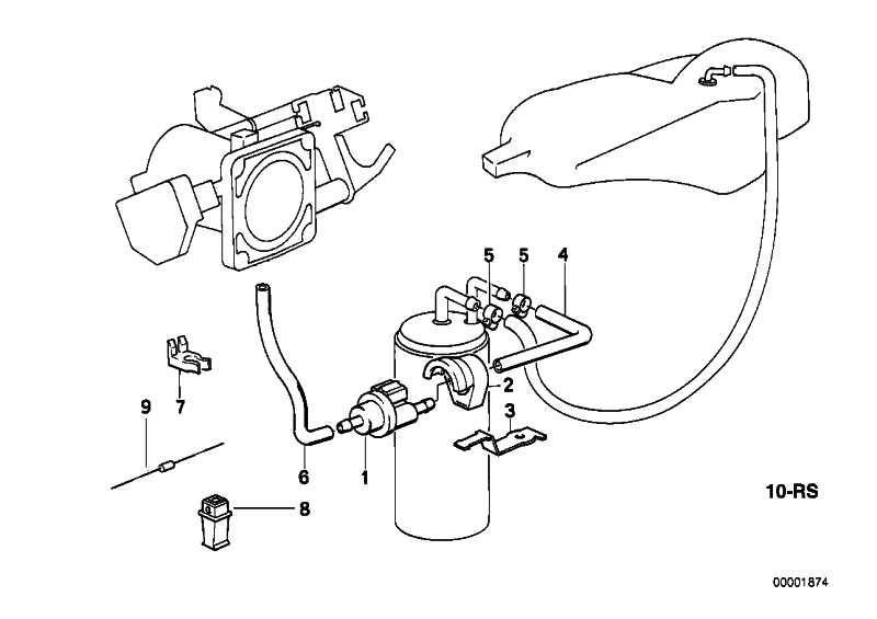 Tankentlüftungsventil AB-ELEKTRONIK   3er 5er 7er Z1 Z3  (13901726705)