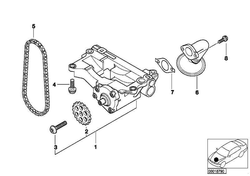 Kettenrad Ölpumpe  3er 5er 6er 7er X3 X5 X6  (11412247304)