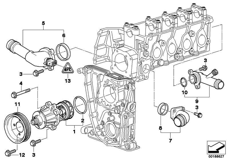 Zylinderschraube mit Scheibe M8X80           3er Z3  (07119901977)