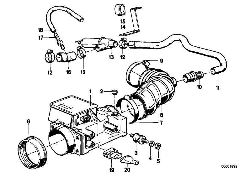 Austausch Luftmengenmesser  3er 5er  (13627547978)