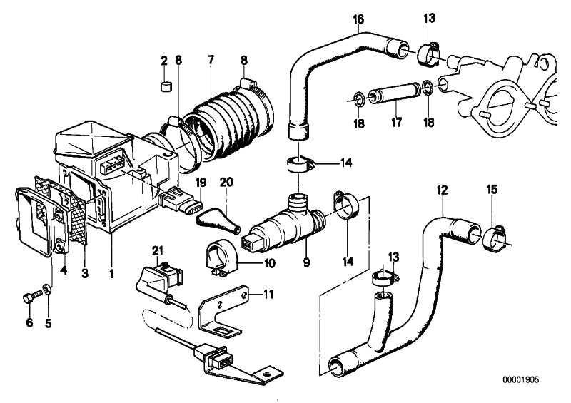 Luftmengenmesser  5er 6er  (13621307019)