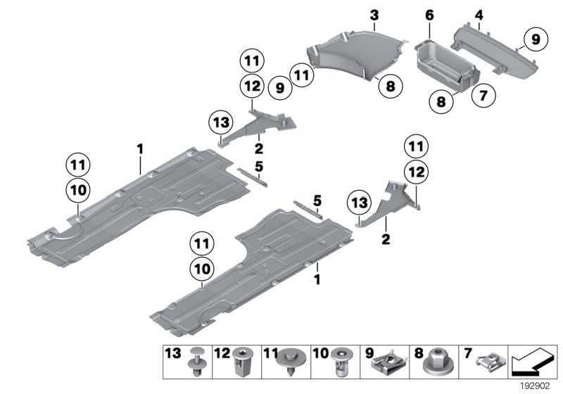 C-Clip Kunststoffmutter TS5 4er 5er 6er 7er  (07147311312)