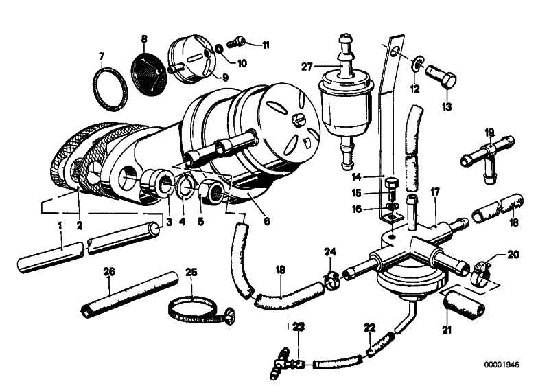 Kraftstoffpumpe  5er 3er  (13311276550)