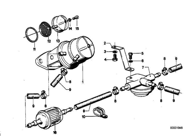 Kraftstoffpumpe  5er 7er 6er  (13311263766)