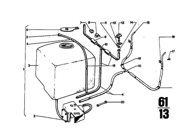 Flüssigkeitsbehälter    (61661350871)