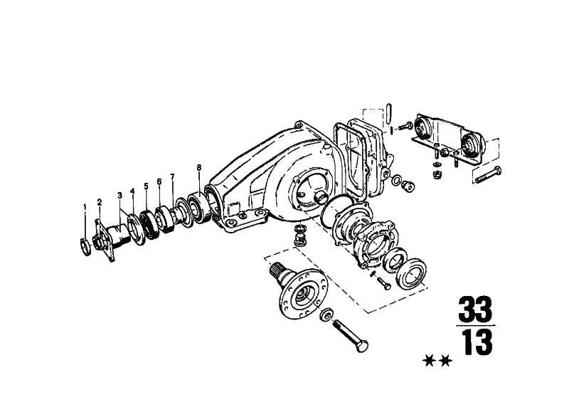 Kegelrollenlager 34,9X76,2X29,3   3er  (33121206739)