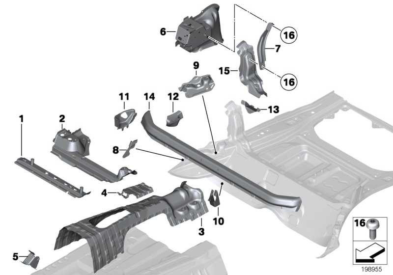 Linsenschraube ISA M12X24 1er 3er X1 MINI  (07147203927)