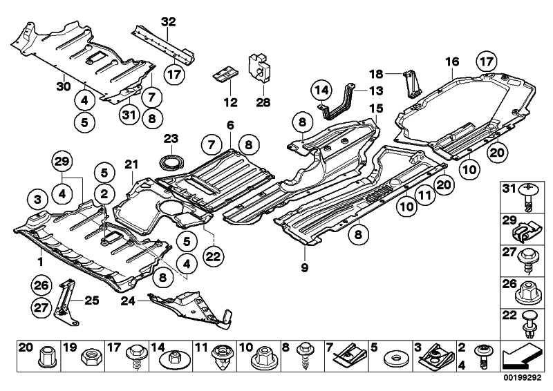 Halter Motorraumabschirmung links  X6 X5  (51717188835)