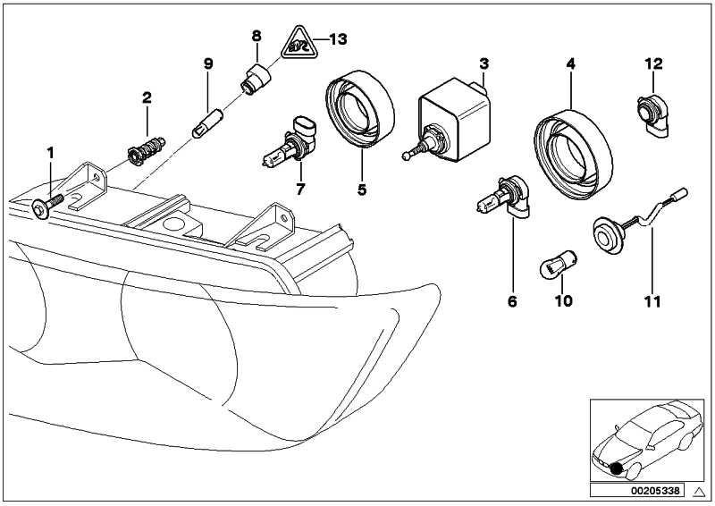 Adapter Glühlampe H7              Z3  (63128401662)