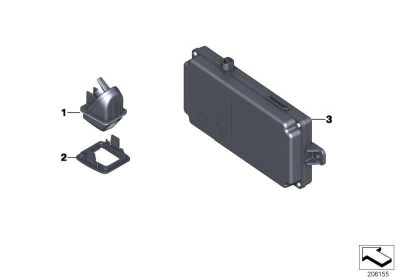 Steuergerät Rückfahrkamera  X1  (66539291385)