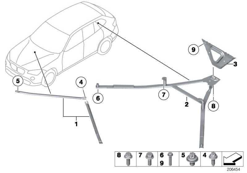 Sechskantschraube M12X1,5X75-10.9 3er X1 MINI  (07119905408)