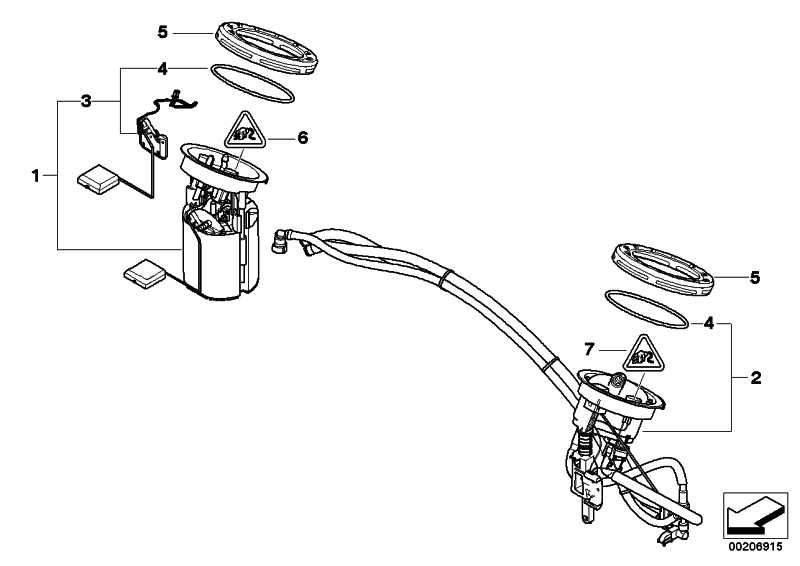 Rep.Satz Kraftstoffpumpe/Füllstandsgeber  1er 3er X1  (16117197076)
