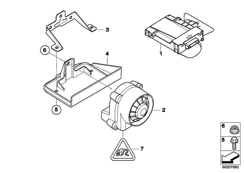 Ultraschall-Modul  1er 3er X1  (65759244134)