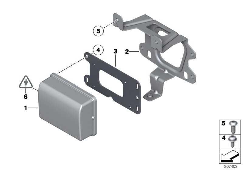 ACC-Sensor  1er 3er 4er 5er 6er 7er X3 X4 X5 X6  (66316876327)