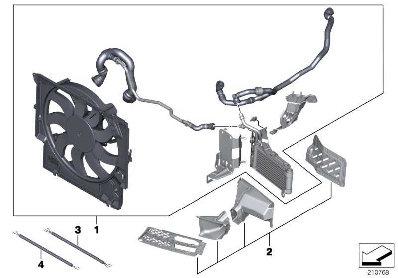 Power Kit mit FSC BMW PERFORMANCE 1er 3er  (11122157665)