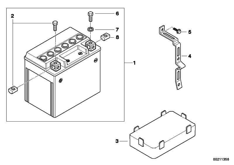 Haltebügel Batterie   (61217728248)