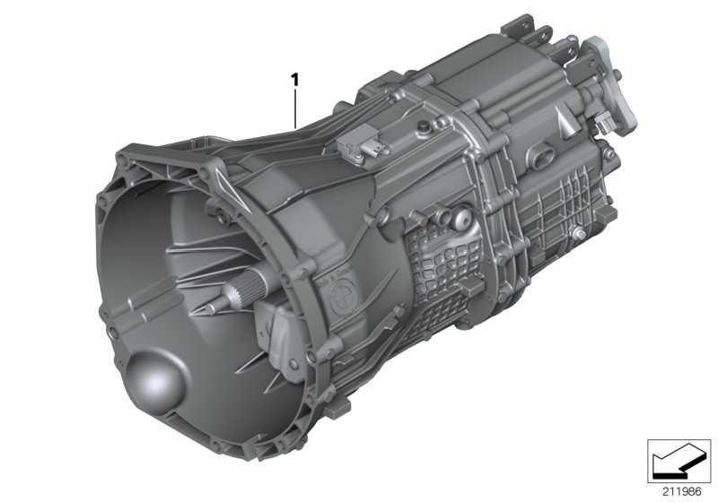 Austausch 6 Gang Getriebe GS6-45DZ - TH6G 1er 3er 5er  (23007635764)