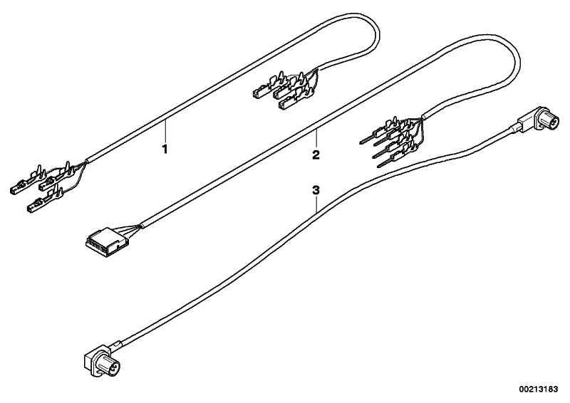 Kabelsatz USB L= 850MM X5 X6  (61129196805)