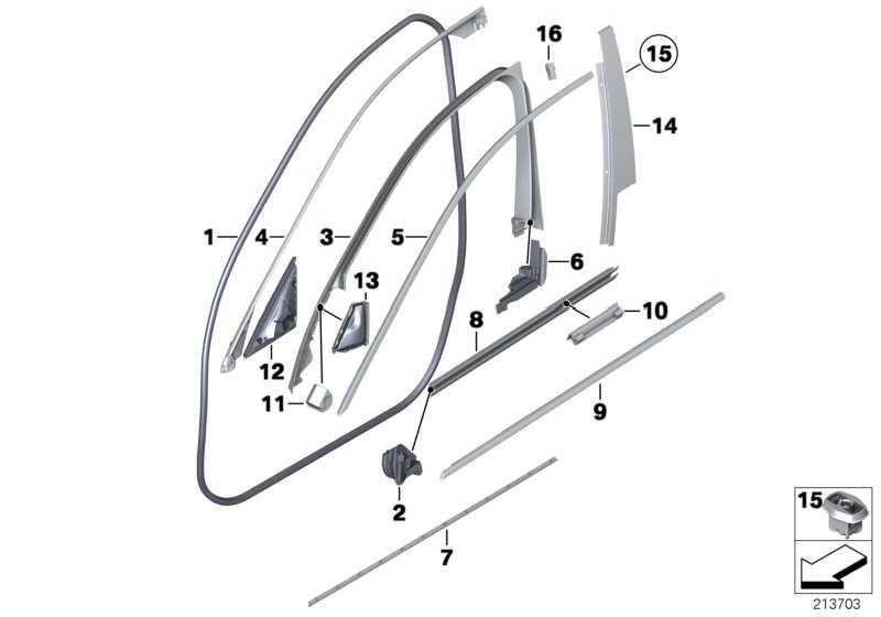 Abdeckung Spiegeldreieck rechts HARMAN / KARDON 5er  (51337380660)