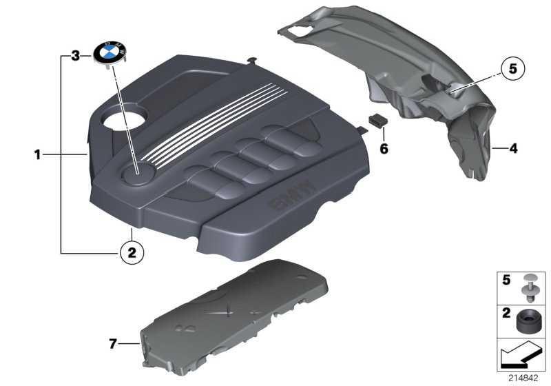 Abdeckung Akustik  1er 3er 5er X1 MINI  (11147810838)