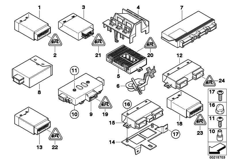 Steuergerät Micro Power Modul  5er 6er  (61359266274)