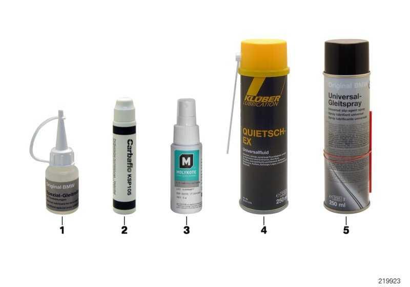 Gleitmittel Carbaflo KSP 105 50G STIFT  (83230309627)