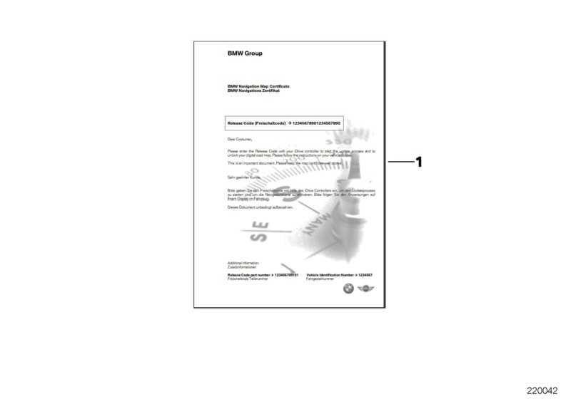 FSC CIC Karte Europa Motion Update 2 YEARS  1er 3er 5er X1 X3  (65902409887)
