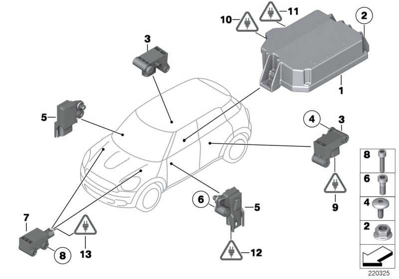 Steuergerät Airbag  MINI  (65779812297)