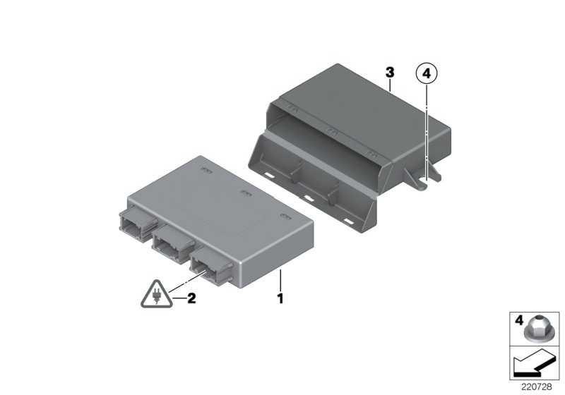 Steuergerät PDC  MINI  (66209252640)