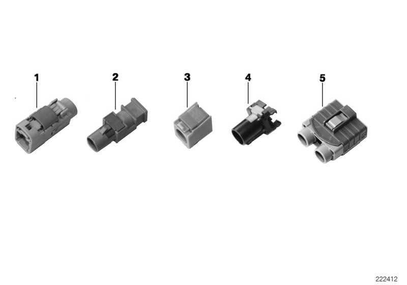 HF Stiftgehäuse gewinkelt  1er 3er 5er 6er 7er 8er X1 X3 X5 X6 Z4 Z8 MINI  (61136913643)