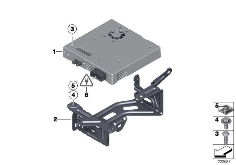 Halter TV Modul  X3  (65159188583)