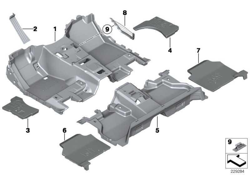 Fussstütze SCHWARZ         X3 X4  (51477290530)