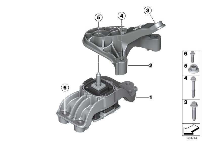 Getriebelagerbock  MINI  (22316788663)