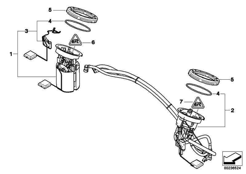 Rep.Satz Kraftstofffilter m. Druckregler  1er 3er  (16147163296)