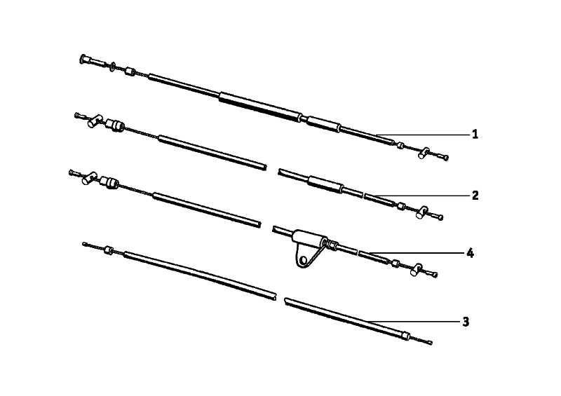 Kupplungszug  R  (21522072113)