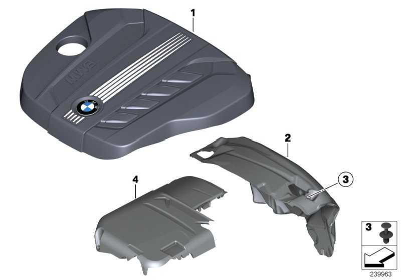 Abdeckung Akustik  X3  (13717811024)