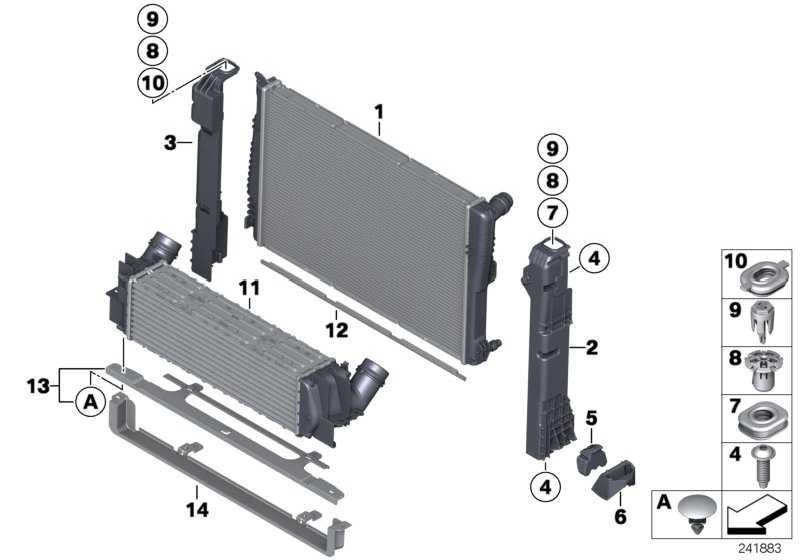 Halter Modul  X3 X4  (17117593779)