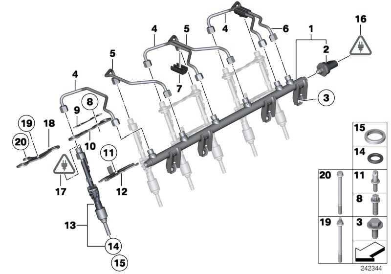 Halter Injektor  5er 1er 3er X6 X5 X3 X1 6er Z4 7er 4er 2er X4  (13647595405)