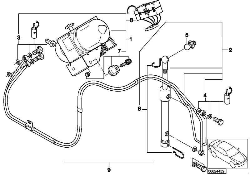 Hydraulikzylinder  Z3  (54348410307)