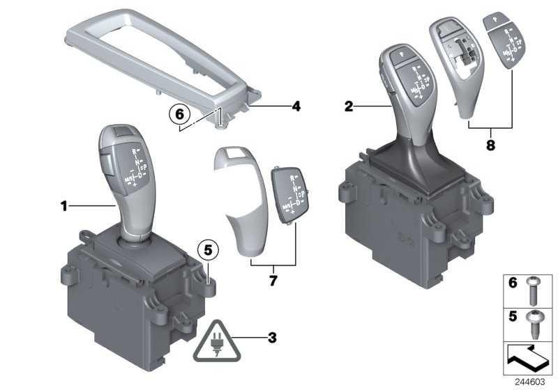 Gangwahlschalter  5er 6er X3 X4  (61319296902)