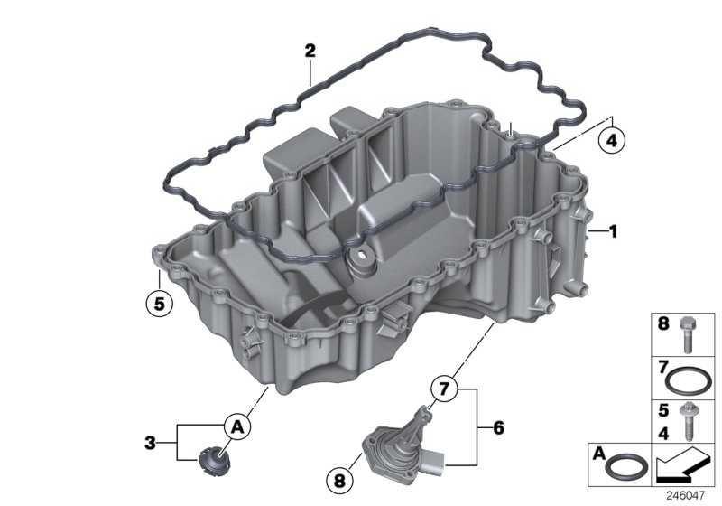 Verschlussschraube mit O-Ring  1er 3er 5er X1 Z4  (11137605018)