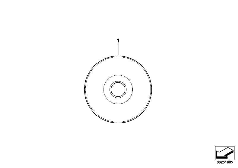 CD Reparaturanleitung R1150RT D/GB/F/E/I/NL/P  (01790142175)