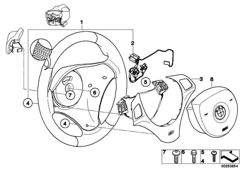 M Sportlenkrad Airbag Leder  3er  (32342283738)