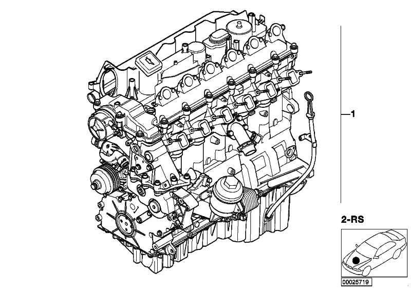 Austausch Triebwerk 306D3 5er  (11000441304)