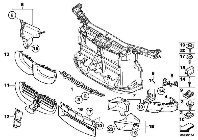 Luftführung Motorölkühler vorn rechts  1er  (51748046326)