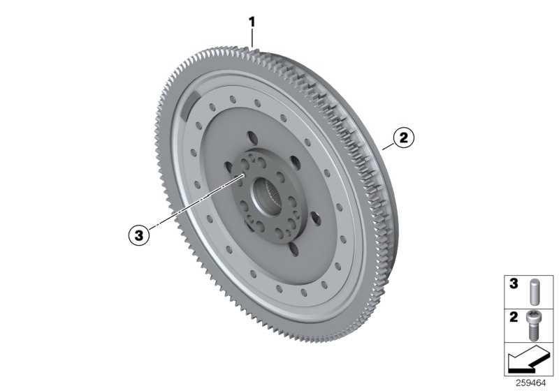 Zweimassenschwungrad DKG             5er 6er  (21212283824)
