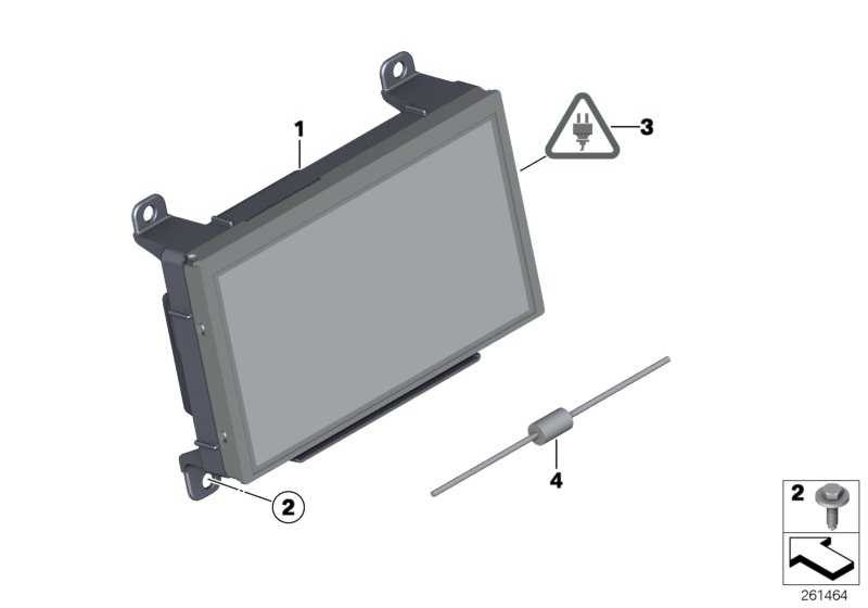 Central Information Display  MINI  (65509278279)